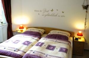Doppelbett Ferienhaus